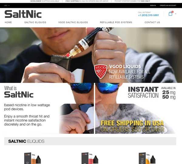CBD Marketing Company - SaltNic
