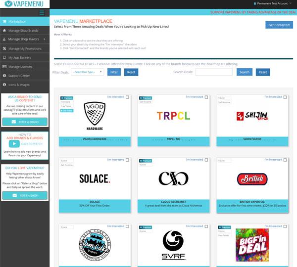 CBD Marketing Company - Vape Menu Company