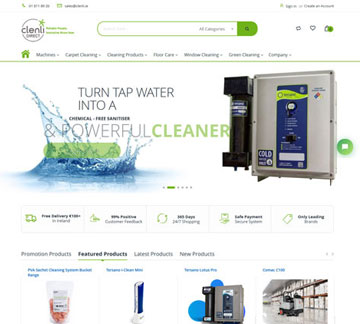 cleanly - techievolve portfolio