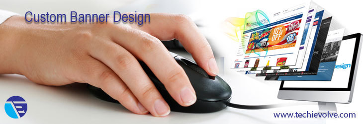 Promote Your Business Online with Custom Banner Design for Website