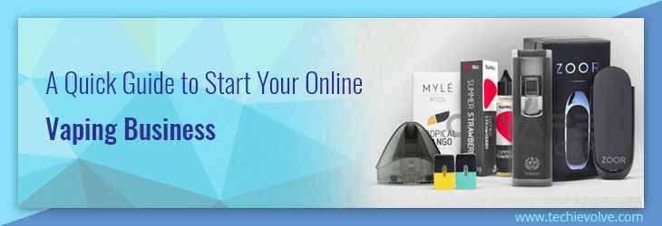 How to Start an Online Vape Store Business? A Quick Guide