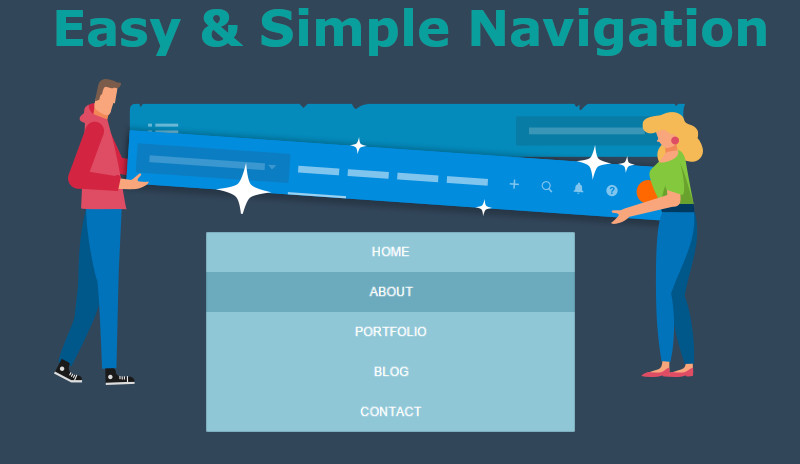 simple-navigation-structure