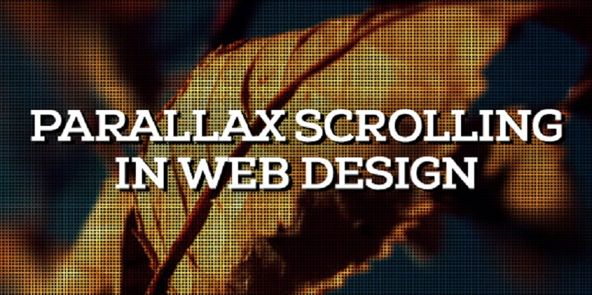 Parallax Scrolling Magento eCommerce website