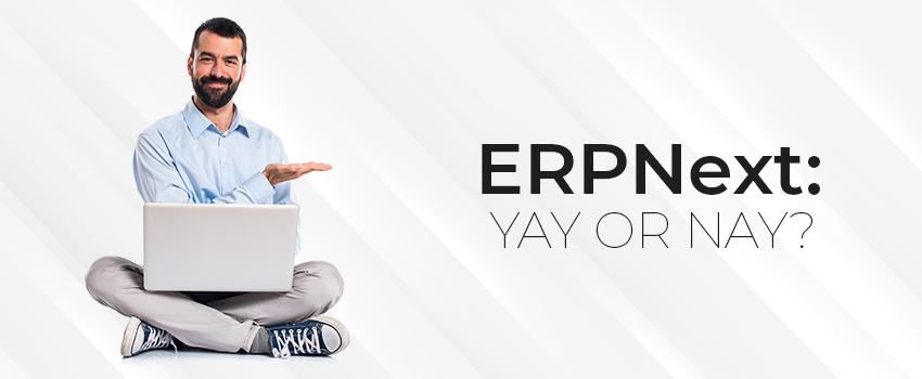 Why ERPNext