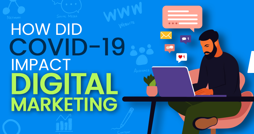 What impact did COVID-19 have on Digital Marketing?
